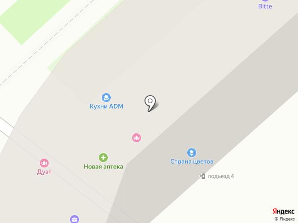 Сиамстор на карте Комсомольска-на-Амуре