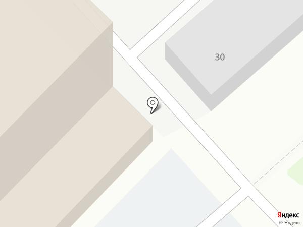 Авантаж на карте Комсомольска-на-Амуре