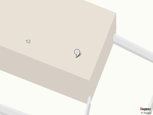 Исправительная колония №7 на карте Комсомольска-на-Амуре