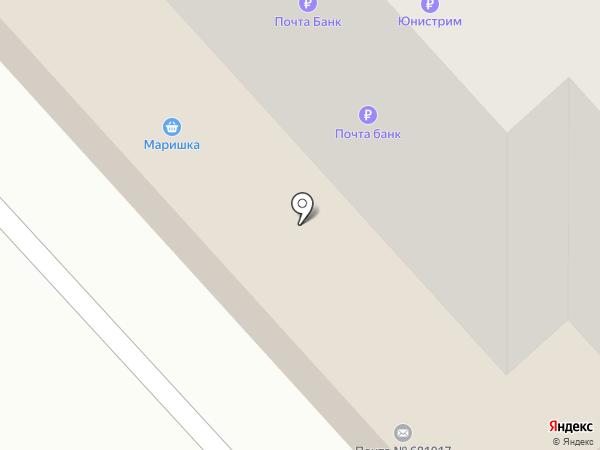 Дилан на карте Комсомольска-на-Амуре
