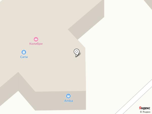 Магазин женской одежды на карте Комсомольска-на-Амуре