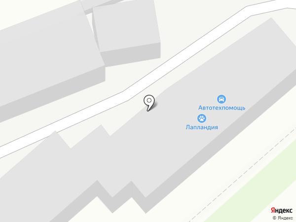Мужичок на карте Комсомольска-на-Амуре