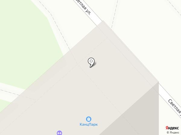 КанцПарк на карте Комсомольска-на-Амуре