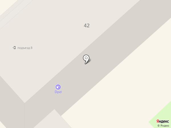 Элегант на карте Комсомольска-на-Амуре