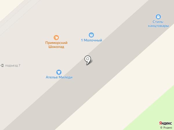 Стиль Офисная планета на карте Комсомольска-на-Амуре