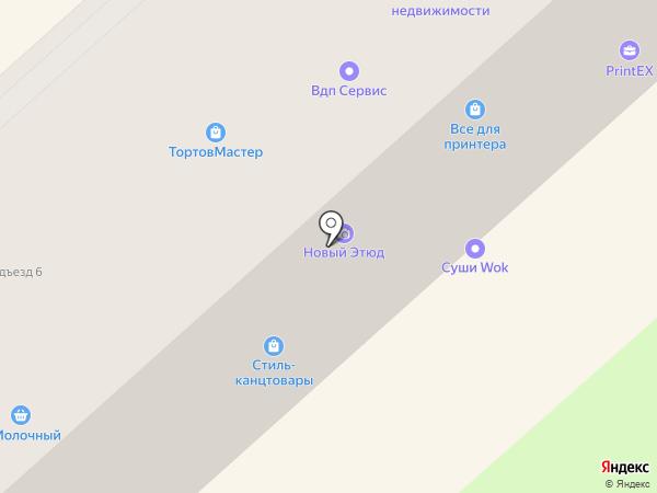 Панда на карте Комсомольска-на-Амуре