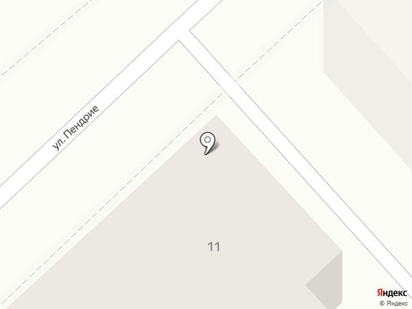 Тари-ком на карте Комсомольска-на-Амуре