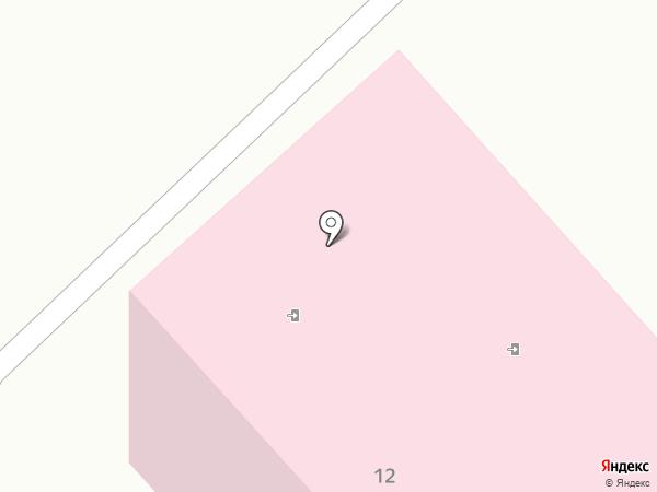 Городская больница №7 на карте Комсомольска-на-Амуре