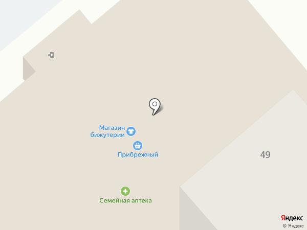 Прибрежный на карте Комсомольска-на-Амуре