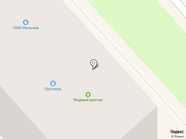 Ортомед на карте Комсомольска-на-Амуре