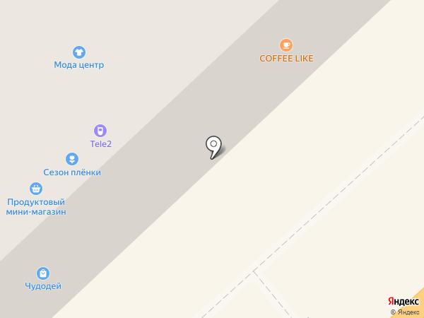 Мода Центр на карте Комсомольска-на-Амуре