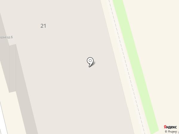 Пуговица на карте Комсомольска-на-Амуре