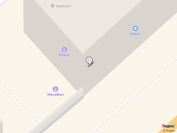 Смайл на карте Комсомольска-на-Амуре