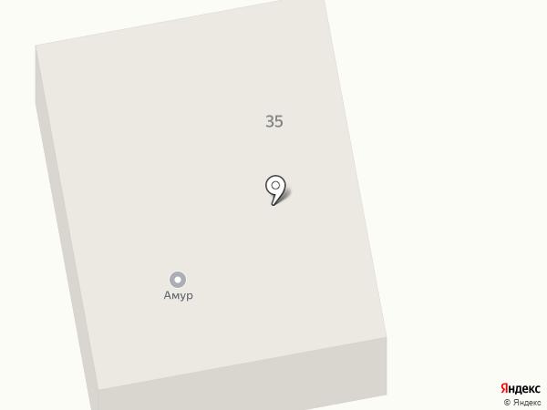 Автогаз на карте Комсомольска-на-Амуре