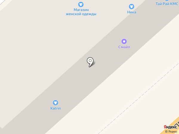 Модистка на карте Комсомольска-на-Амуре
