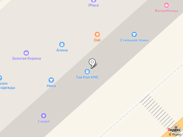 Добрый на карте Комсомольска-на-Амуре