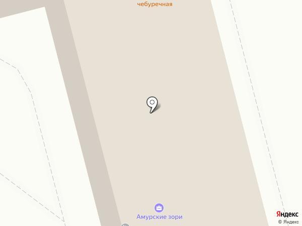 ТТ Авто на карте Комсомольска-на-Амуре