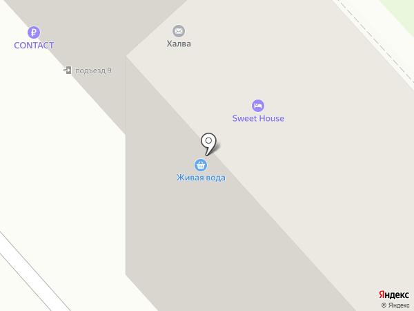 Амбарчик на карте Комсомольска-на-Амуре