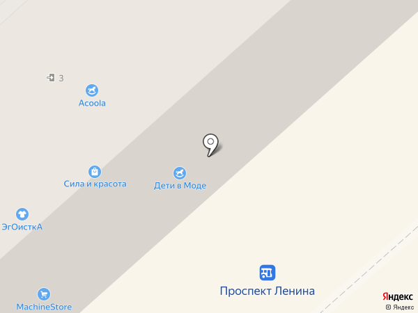 Пятачок на карте Комсомольска-на-Амуре