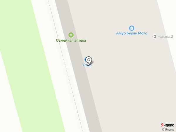 Амур Буран Мото на карте Комсомольска-на-Амуре