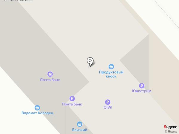 Bitte на карте Комсомольска-на-Амуре