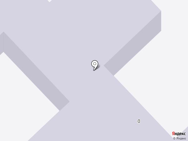 Детский сад №8 на карте Комсомольска-на-Амуре