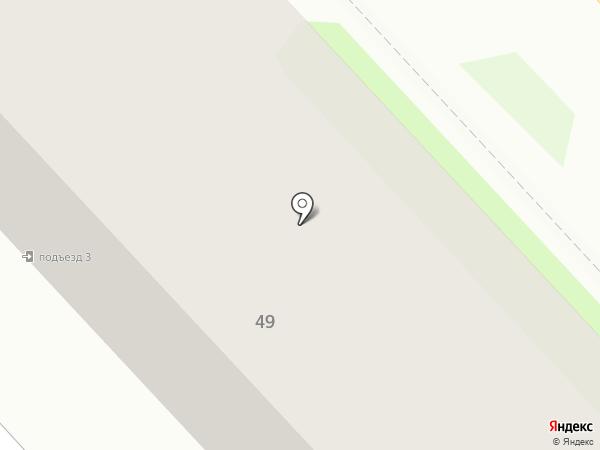 ЭГОист на карте Комсомольска-на-Амуре