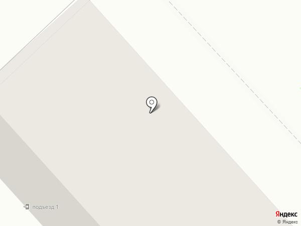 Акварель на карте Комсомольска-на-Амуре