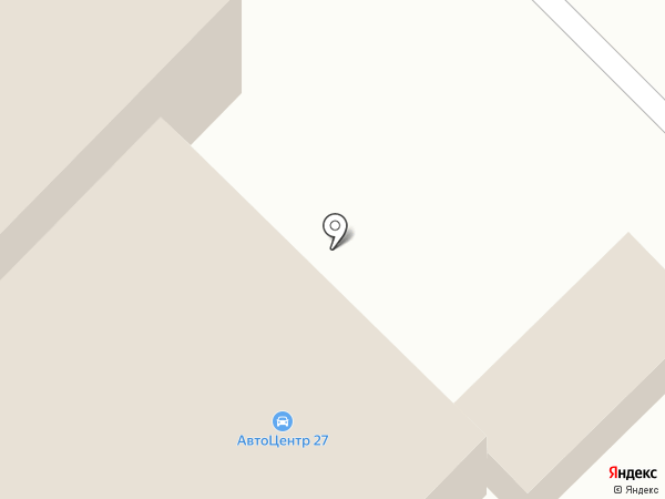 Джип Тайрс на карте Комсомольска-на-Амуре
