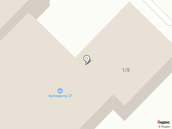 Магазин автооптики на карте Комсомольска-на-Амуре