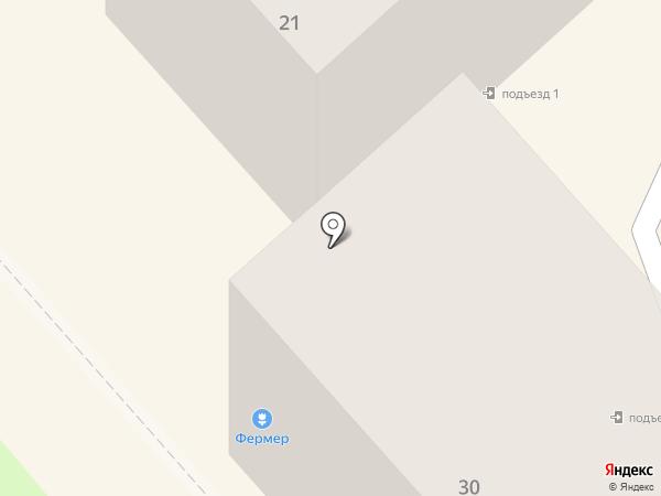 Фермер на карте Комсомольска-на-Амуре