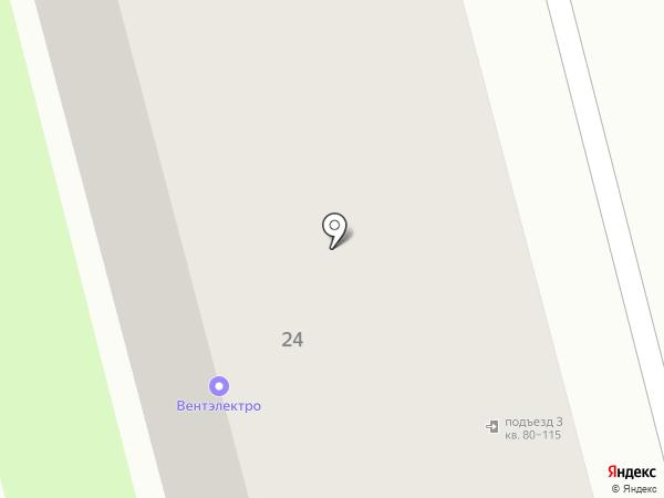 Служба заказчика №1 на карте Комсомольска-на-Амуре