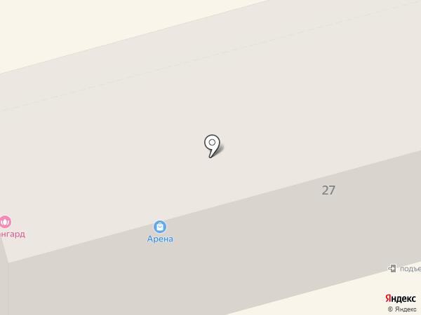 Арена на карте Комсомольска-на-Амуре