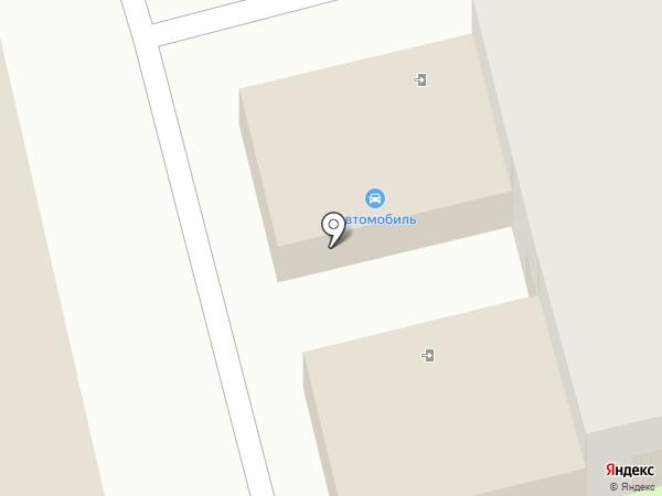 Автомобиль на карте Комсомольска-на-Амуре