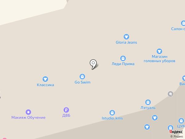 Басти-Бубу на карте Комсомольска-на-Амуре