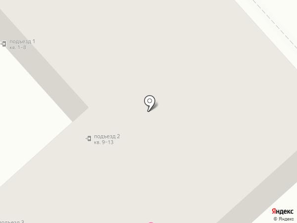 Бочонок на карте Комсомольска-на-Амуре