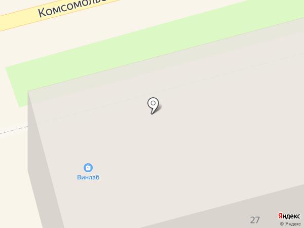 Таверна на карте Комсомольска-на-Амуре