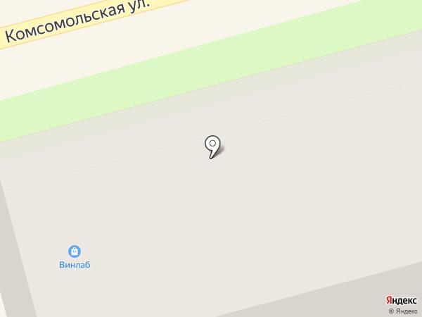 ХОТУ-АС на карте Комсомольска-на-Амуре