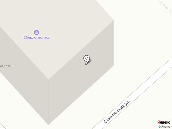 ДВ-Лоджистик на карте Комсомольска-на-Амуре