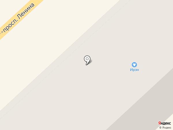Ирэн на карте Комсомольска-на-Амуре