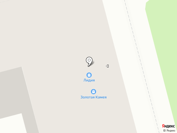 ДЭНАС-центр на карте Комсомольска-на-Амуре