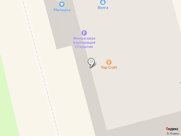 Пивница на карте Комсомольска-на-Амуре