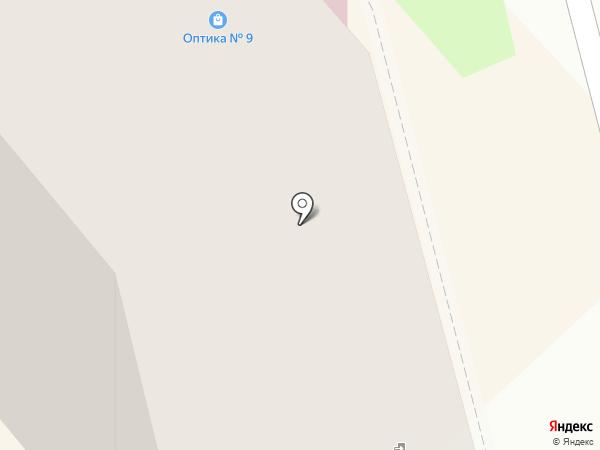 Кафе-пиццерия на карте Комсомольска-на-Амуре