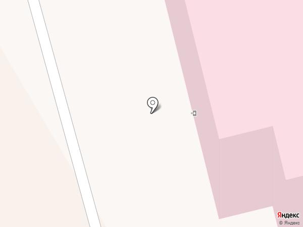 Детская городская больница на карте Комсомольска-на-Амуре