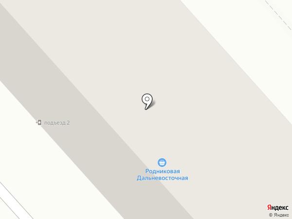 Автозапчасти Техносоюз на карте Комсомольска-на-Амуре