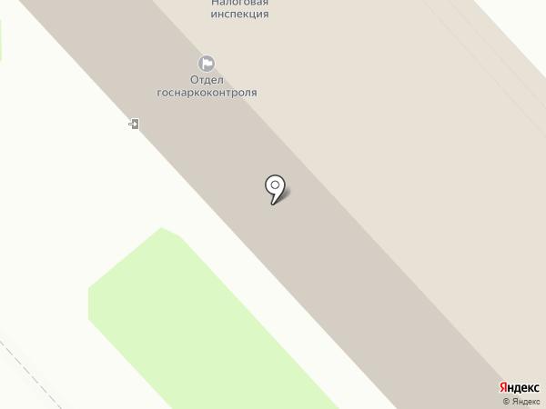 Инспекция Федеральной налоговой службы России по г. Комсомольску-на-Амуре на карте Комсомольска-на-Амуре