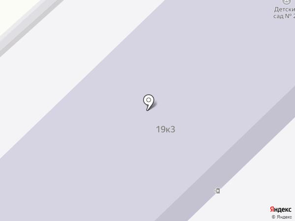 Детский сад №23 на карте Комсомольска-на-Амуре