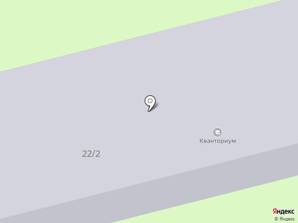 Центр юных техников на карте Комсомольска-на-Амуре