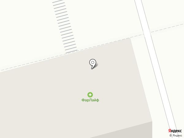 ФАРЛАЙФ на карте Комсомольска-на-Амуре