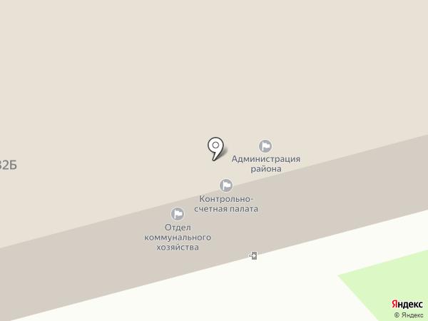 Комсомольский районный совет ветеранов войны и труда на карте Комсомольска-на-Амуре
